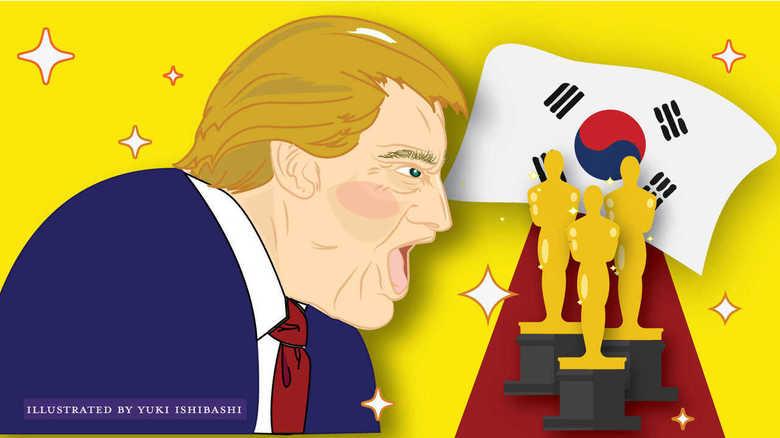 トランプ大統領「パラサイト」受賞を連日猛烈批判 白人支持層にアピール