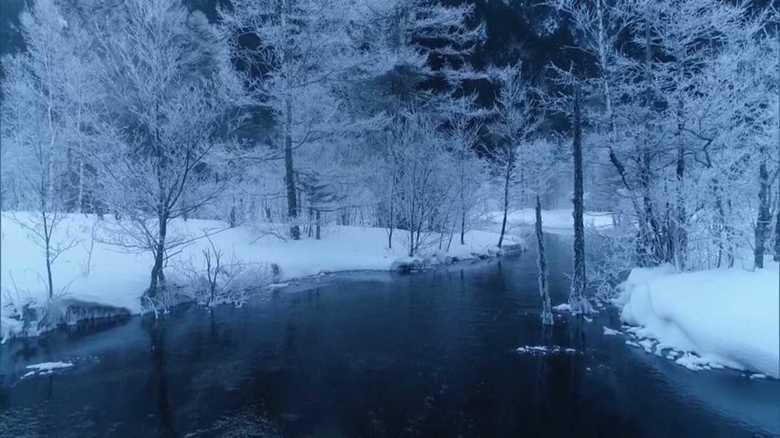 """氷点下18度!冬の上高地は""""別世界"""" 「スノーシューツアー」も魅力の1つ"""