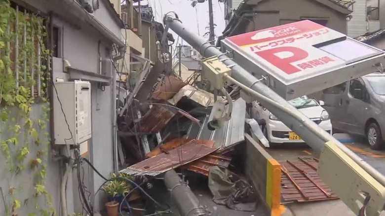 """""""今世紀最強""""台風21号…大阪都市部で被害が広がった理由は「2つの風」"""