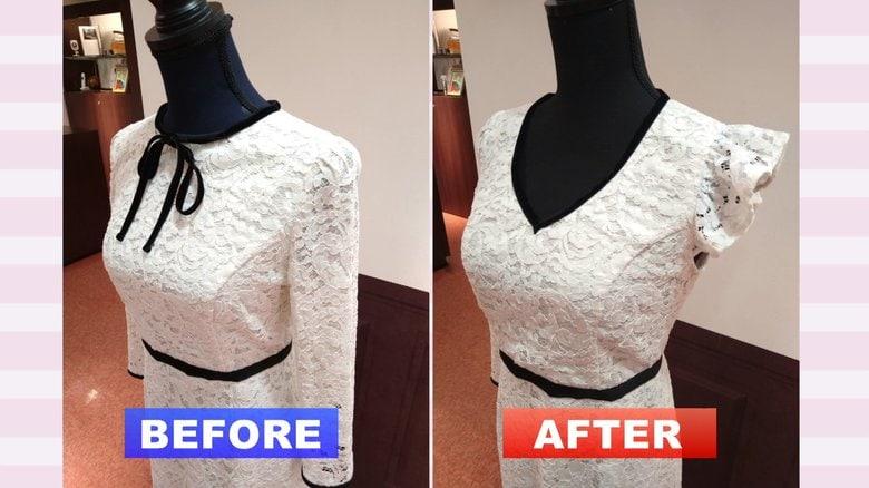 タンスの肥やしに新たな息吹…リメイク専門店で生まれ変わる「あの頃の服」 職人がミリ単位で調整しイマ風に
