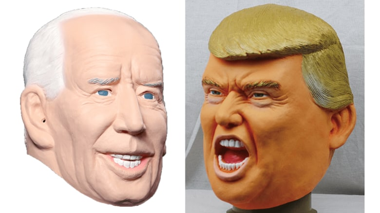 """""""なりきりマスク""""はバイデン氏とトランプ氏どちらが人気?こっちも接戦か製造メーカーに聞いてみた"""