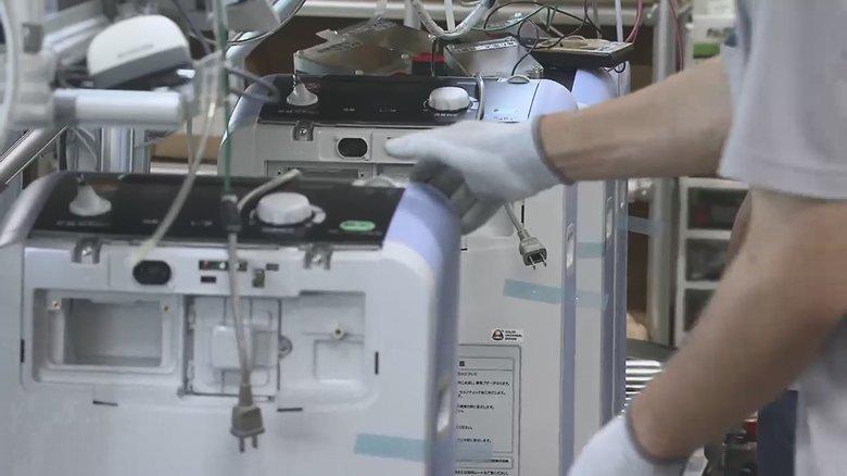 「酸素濃縮器」に「パルスオキシメーター」自宅療養者急増で対応急ぐ生産現場