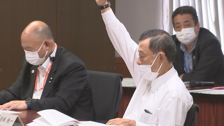 マスク非着用などで厳重注意の臼杵市議 今度はマスクから鼻を出し発言許可されず「法的手段も検討」 大分