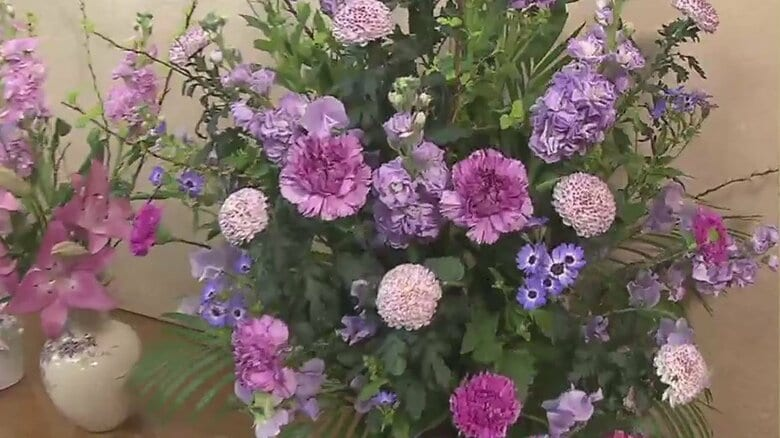 「ホワイトデーのお返しにお花も」コロナ禍で花の需要が激減 困窮の花き農家を救うプロジェクト