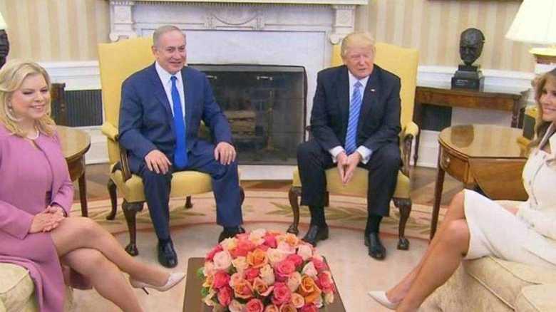 米トランプ大統領「2つの国家の共存にこだわらない」