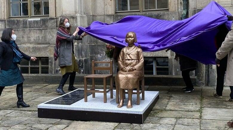 ドイツのドレスデン国立博物館に慰安婦像展示 韓国系市民団体が主導