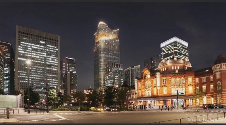"""日本一高い390mの超高層ビル東京駅前に建設へ…コロナで""""空室率""""上昇する中なぜ?勝算は"""