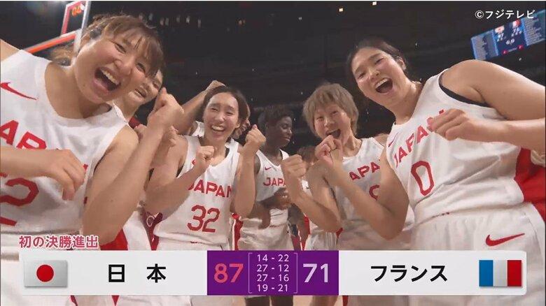 バスケットボール女子 準決勝でフランス下し金メダルに大手 主将・髙田真希「コートで倒れるくらい走り回りたい」