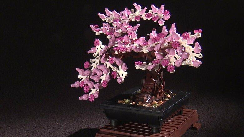デンマーク本社が「禅の心」に着目し開発…大人向けレゴブロックにまさかの「盆栽」 無になり作る2時間20分