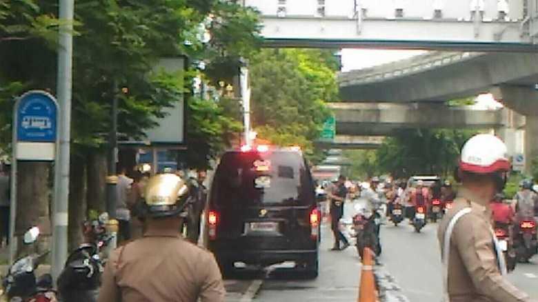 ASEAN外相会合開催中のバンコクで複数の爆発や火災が相次ぐ