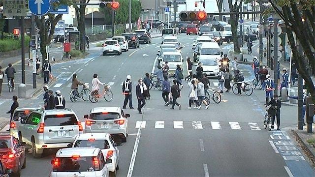 熊本市で渋滞解消の実証実験 その効果は?【熊本】