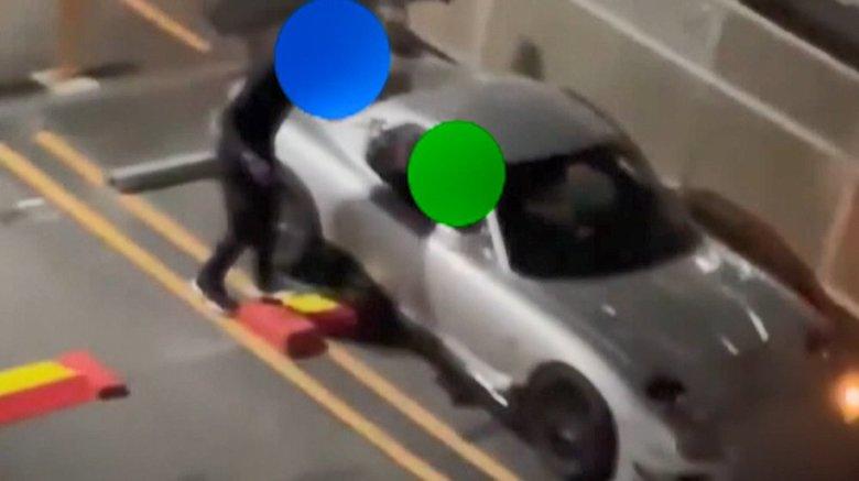 「車パクるな!」被害者が撮影のスポーツカー窃盗の瞬間 窃盗グループに人気の90年代の車
