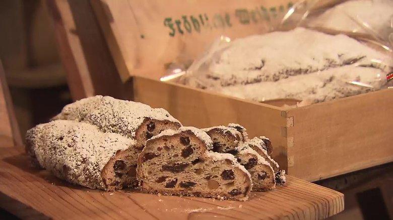 """クリスマスを告げるドイツ伝統の菓子パン「シュトーレン」 """"幸せのパン""""を届ける家族に密着"""