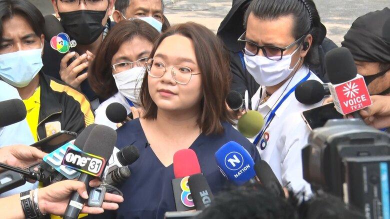 タイ 反政府デモリーダーの女子大生が保釈 デモ活動再び活発なるか