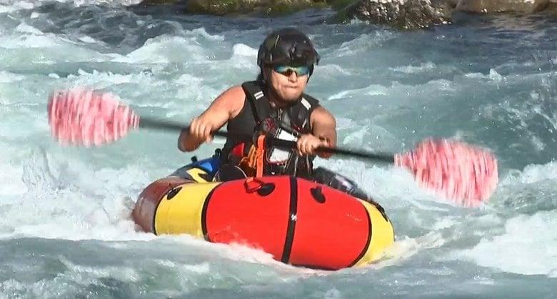 豪雨被害で荒れた川「ラフティング出来ない」…1人乗りボートと新たなコースで再挑戦【熊本発】