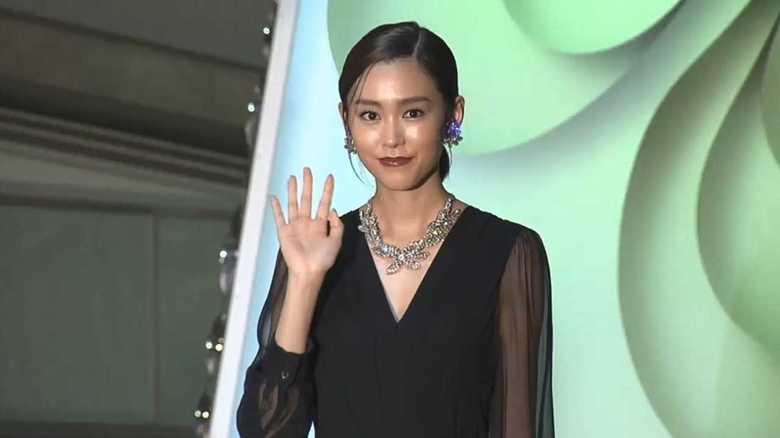 シースルードレスの桐谷美玲 三浦翔平との結婚で2018年は「スタートの年」